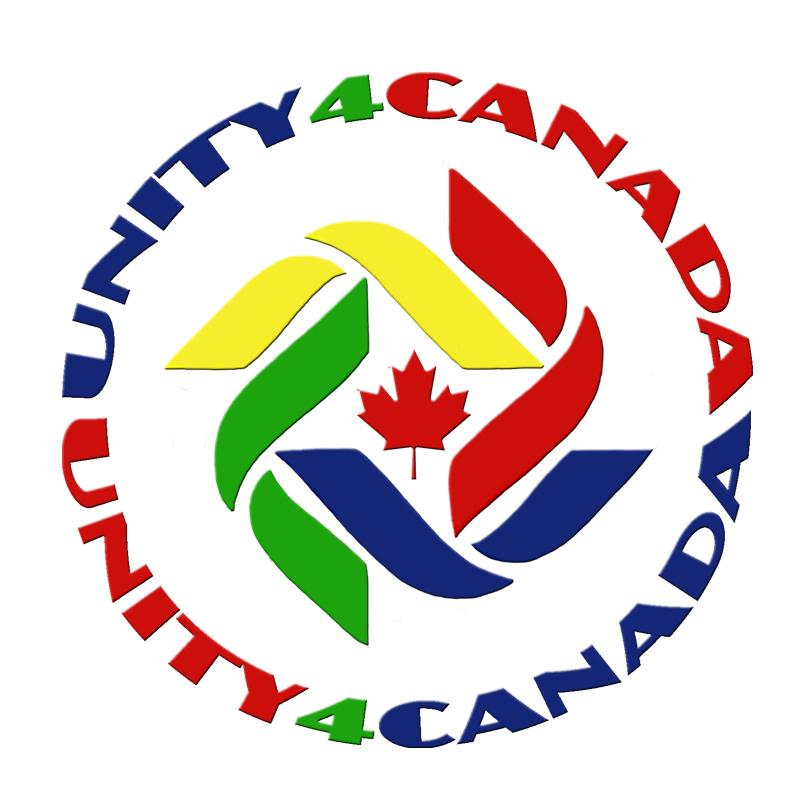 UNITY4CANADA logo Beveled white BG 800x800