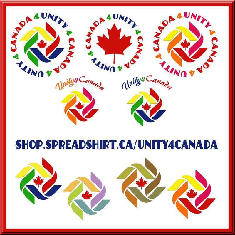 Unity4Canada T-Shirts Mugs Phone Cases